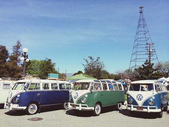Vintage VW at Kelley Park