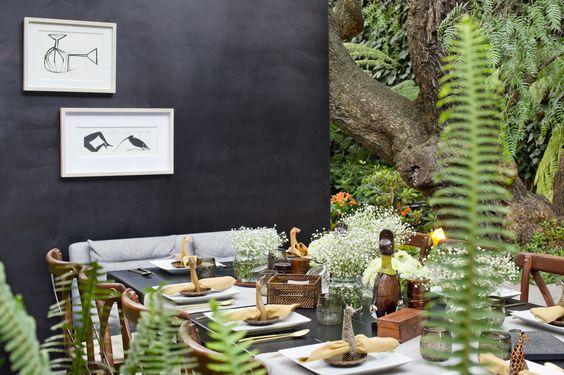 08/11 Un toque de negro le dará drama a tus espacios. #design #diseño #interiores #interiors #negro #black #color #colores #diariodeunadiseñadora
