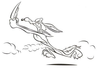 acme cartoon coloring pages - photo#13