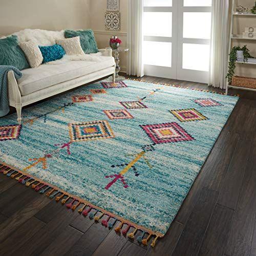 Nourison Moroccan Casbah Area Rug 7 10 In 2020 Indoor Area Rugs Area Rugs Colorful Moroccan Rugs