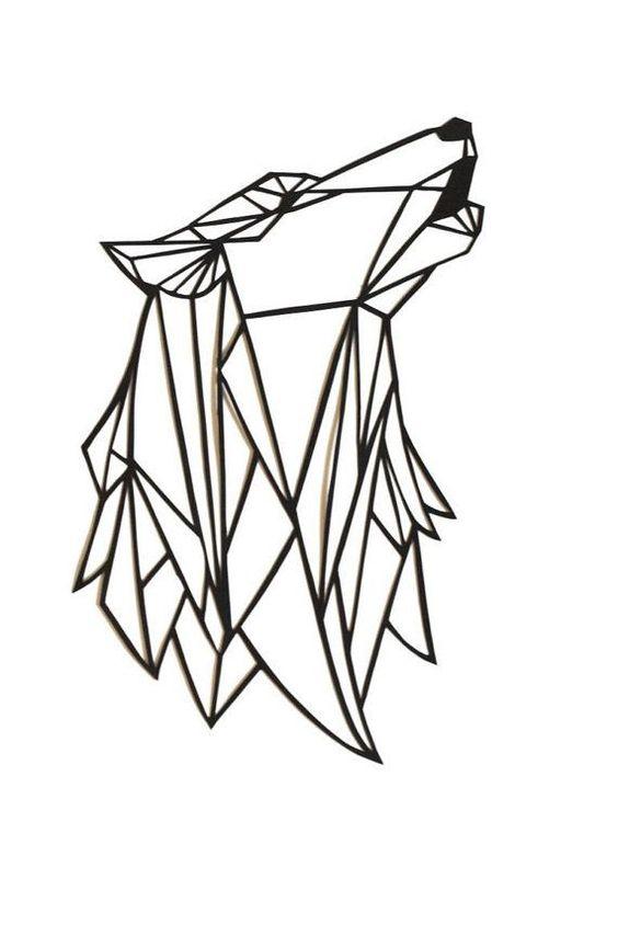 Resultat De Recherche D Images Pour Loup Origami Dessin Epoque