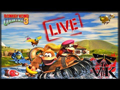 LIVE Detonado Donkey Kong Country 3 Super Nintendo #1 - http://timechambermarketing.com/uncategorized/live-detonado-donkey-kong-country-3-super-nintendo-1/