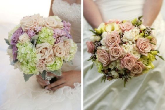 French Shabby Chic Style: Part 4 - Flowers   Bridal bouquets ...