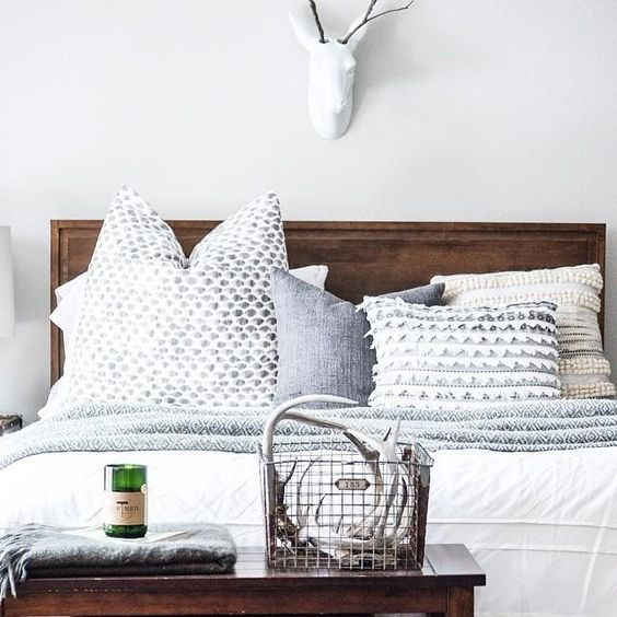 West Elm Beds And Pillows On Pinterest