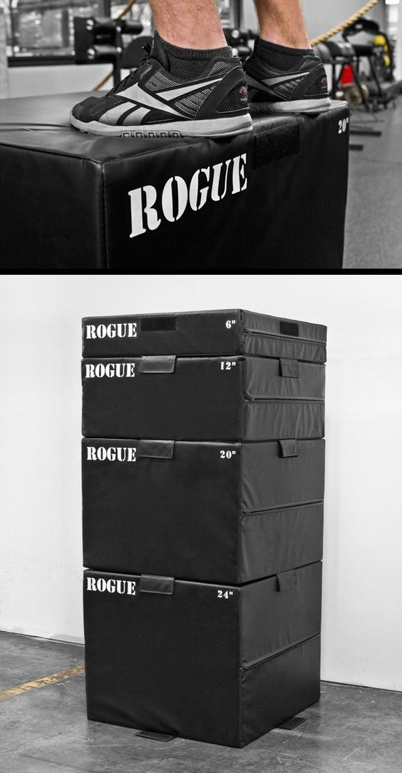 Want, want, want! Rogue Foam Plyoboxes - an option so you don't shred your shins.