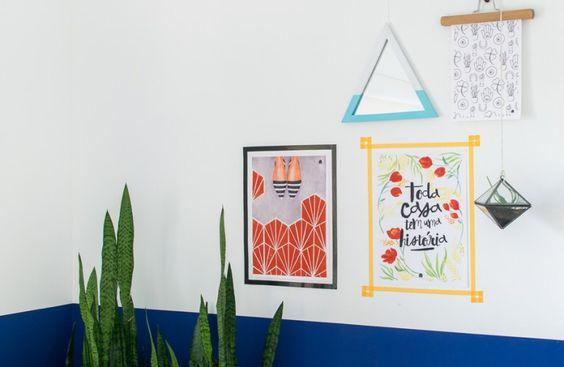 Ideias de faça você mesmo lindas e fáceis de copiar para incrementar a casa sem gastar muito.