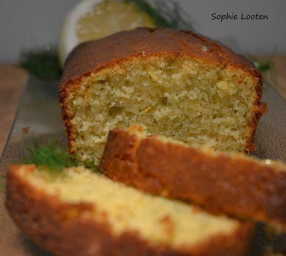 Cake citron aneth