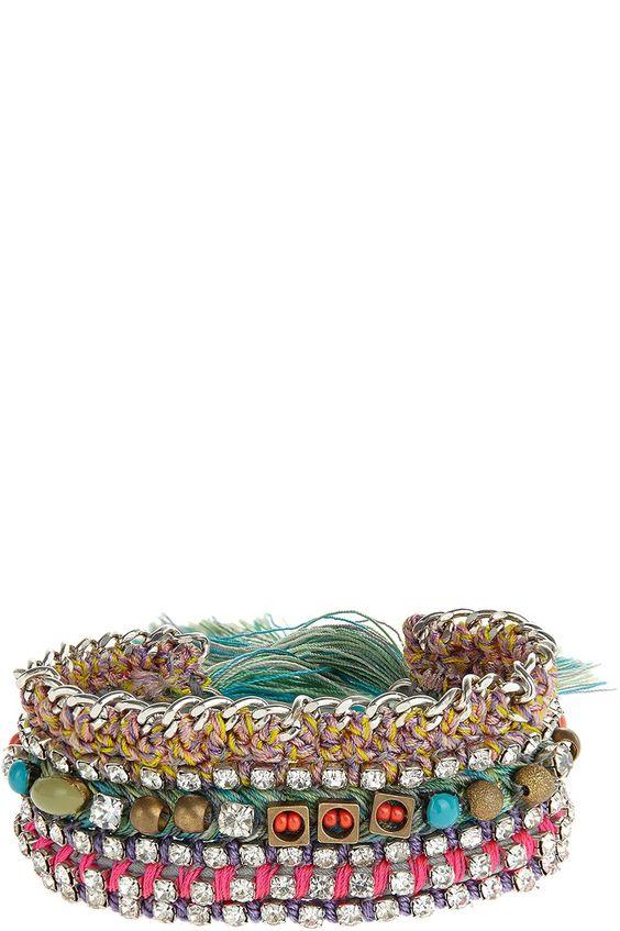 Jihan Rhinestone Bracelet | Calypso St. Barth
