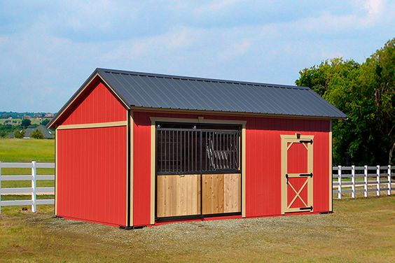 Portable Horse Barns : Portable horse barns roofing siding trim backyard