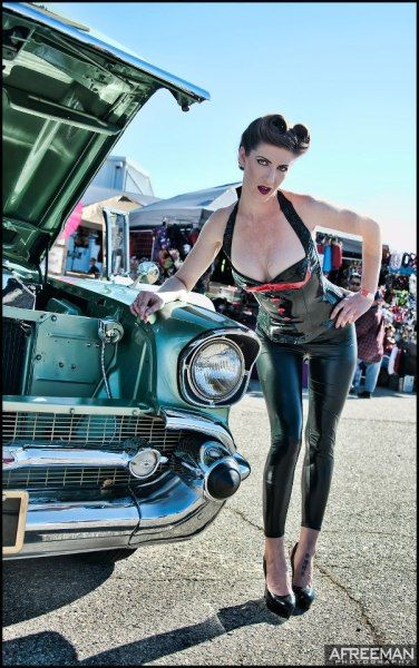Bo Huff S Rockabilly Car Show