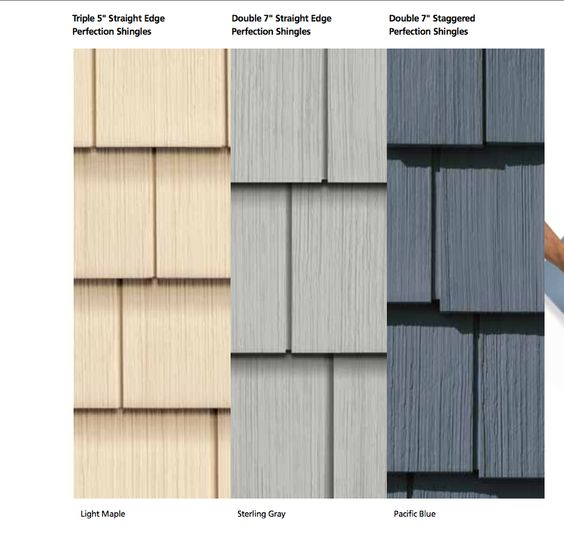 Liking The Pacific Blue Siding For The Beach House