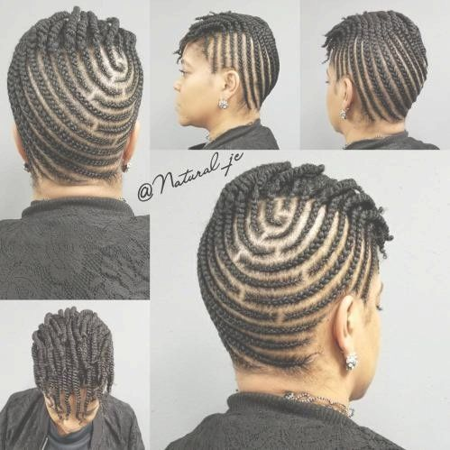30 Best Cornrow Hairstyle For Short Natural Hair Pictures And Tips