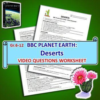 planet earth deserts video questions worksheet editable david keys and videos. Black Bedroom Furniture Sets. Home Design Ideas