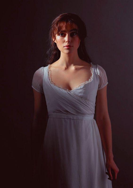 Keira Knightley alias Elizabeth Bennet dans Orgueils et Préjugés