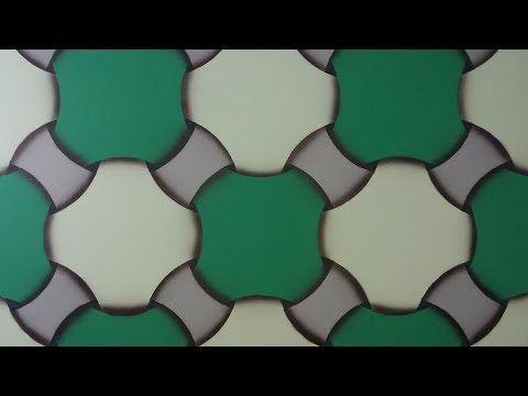 Pintura Decorativa Efeito 3d Facil De Fazer Passo A Passo Youtube Wall Painting Visual Pintura