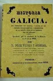 Historia de Galicia de 1838