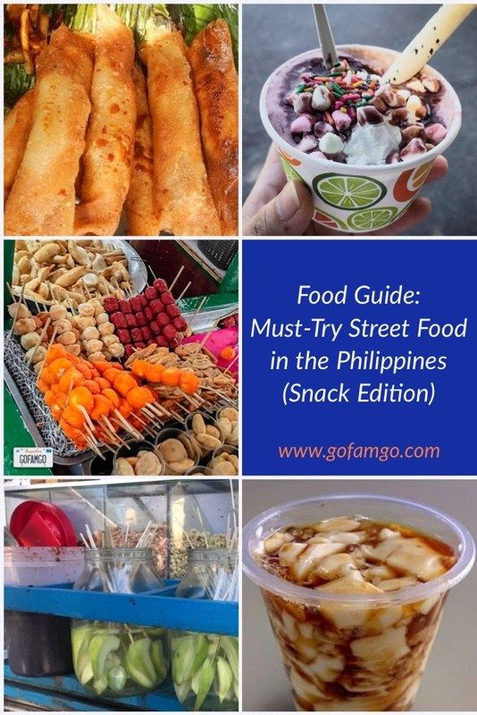 Food Guide Must Try Street Food In The Philippines Snack Edition