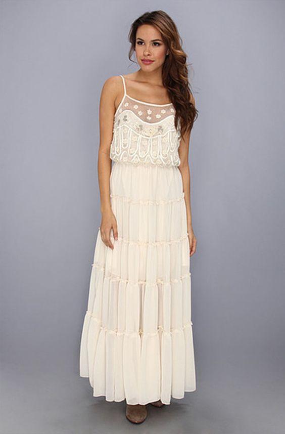 Casual Wedding Dress - Festival Wedding Inspiration and Ideas for ...