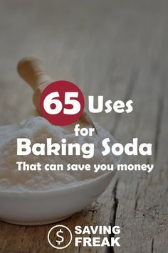 Baking soda is MAGIC