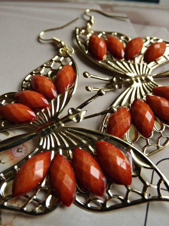Butterfly Earrings Free Shipping $6.99