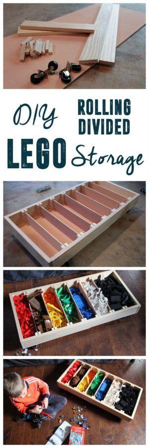 Rolling Lego Sorter Lego Storage Diy Lego Storage Bedroom Organization Diy