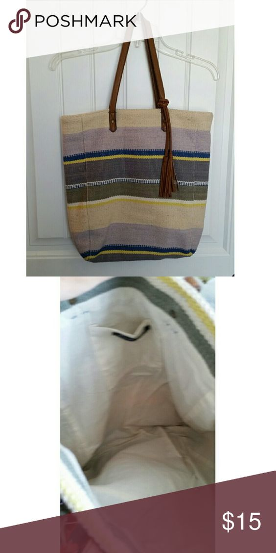 AE Tote Bag Great tote bag. In great condition. American Eagle Outfitters Bags Totes