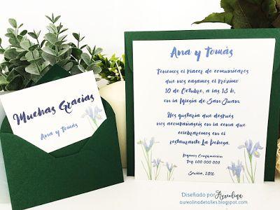 Invitación Lirio