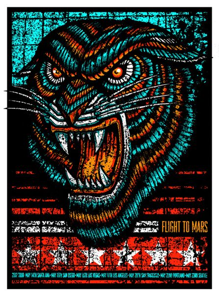 GigPosters.com - Flight To Mars