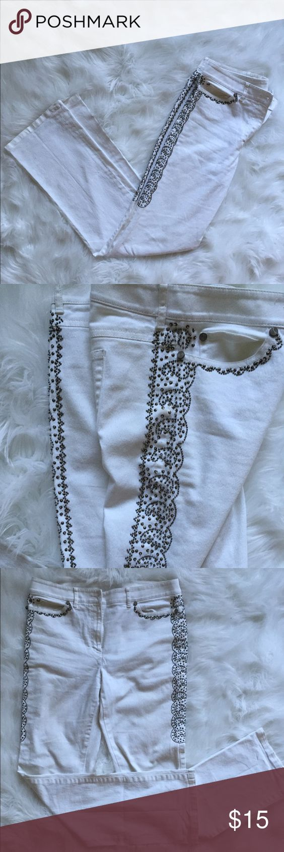 White Jeans Size 6