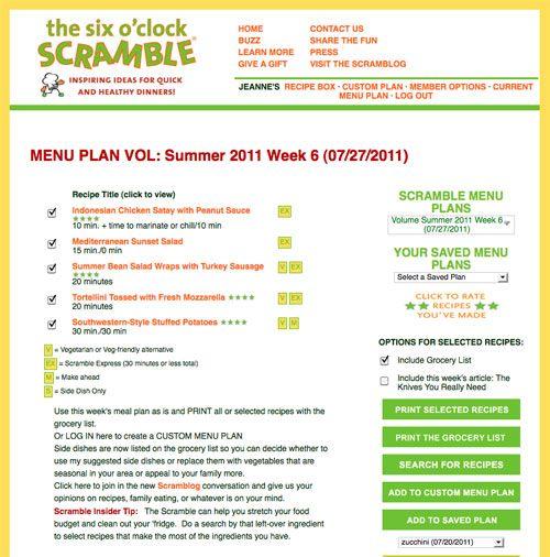 Menu Plans Healthy Food Healthy PlanetHealthy Menu  Indian