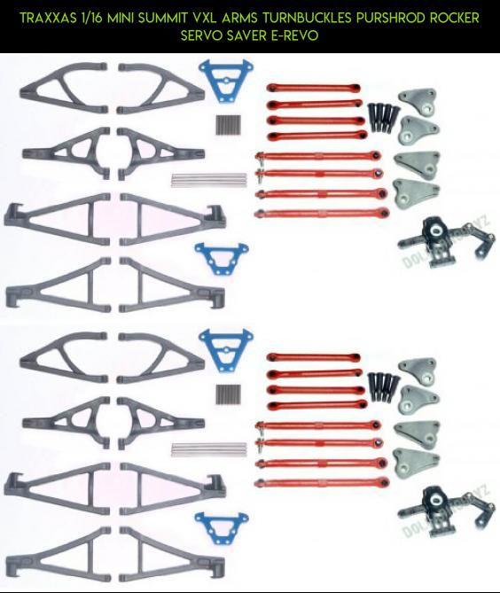 Traxxas 1//16 Mini Slash 4x4 SUSPENSION ARMS PINS /& TURNBUCKLES SERVO SAVER