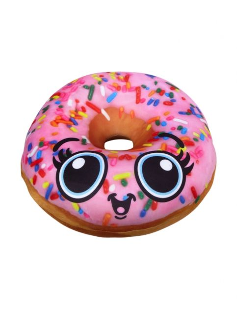 Donut food pillow girls pillows room decor shop for Room decor justice