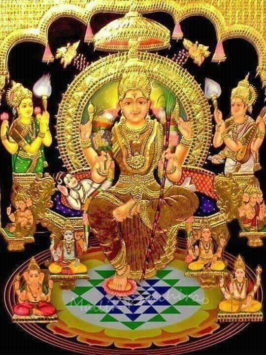 God Images Jai Maa Laxmi Image Tantra Art Hindu Art Mysore Painting