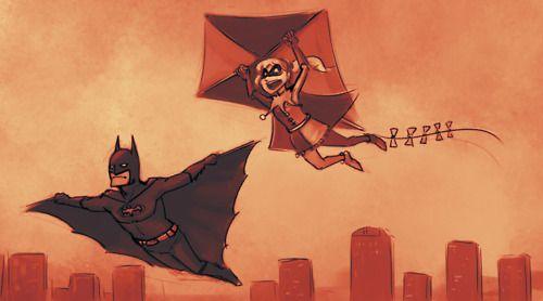 Batman and Harley