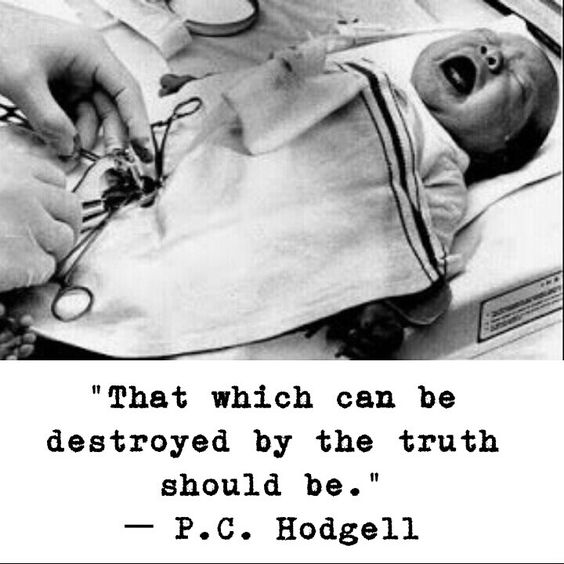 That which can be destroyed by the truth should be. #circumcision #genitalintegrity #genitalmutilation #bodilyautonomy