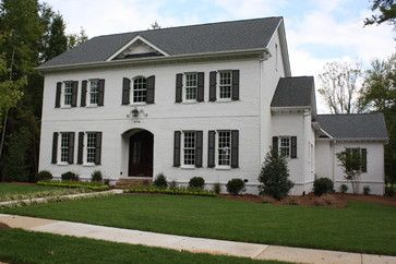 Tricks for choosing exterior paint colors traditional - Sherwin williams black fox exterior ...