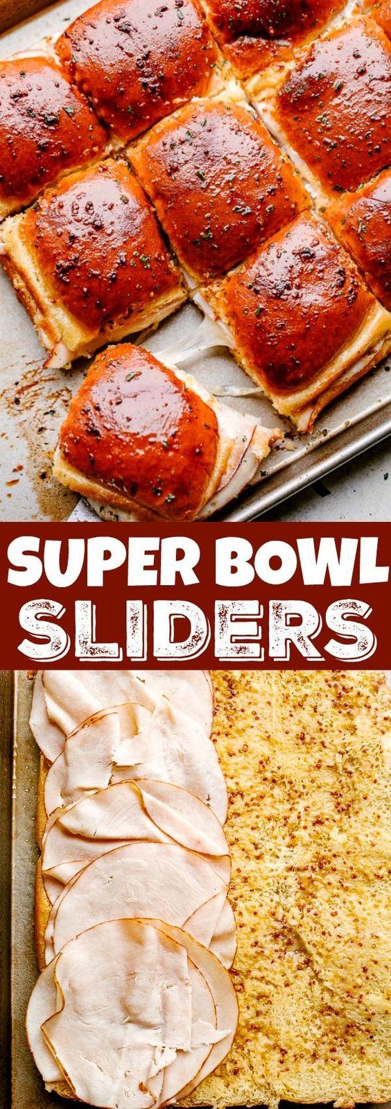 Turkey Ham and Cheese Sliders | Diethood