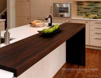 58 Ideas Kitchen Bar Extension Countertops Wood Countertops Kitchen Contemporary Kitchen Kitchen Countertops