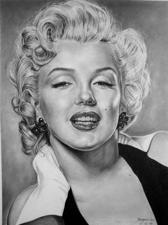 Marilyn Monroe by Hongmin.