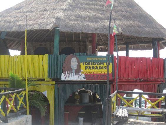 Bob Marley - Reggae Beach Bar (Cozumel Mexico)
