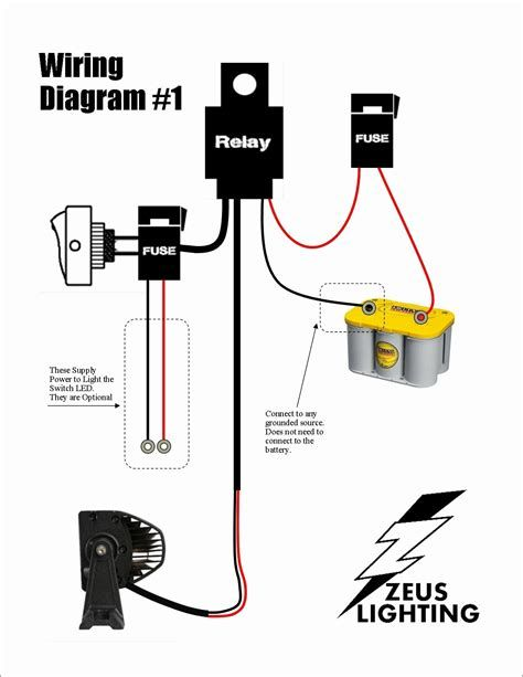 Relay Switch Wiring Diagram Beautiful Led Light Bar Wiring Jeep