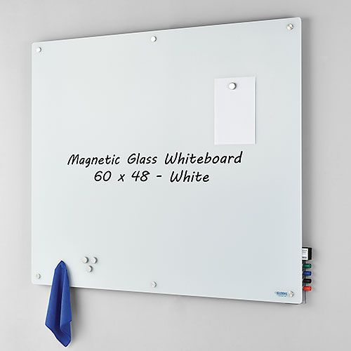 Whiteboards Bulletin Boards Whiteboards Magnetic Glass Whiteboard 60 X 48 White 695511 Glob White Board Office Wall Design Conference Room Design