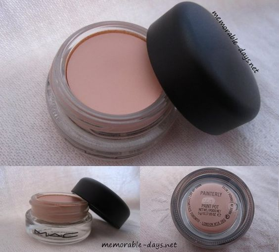 Mac paint pot for green eyes without