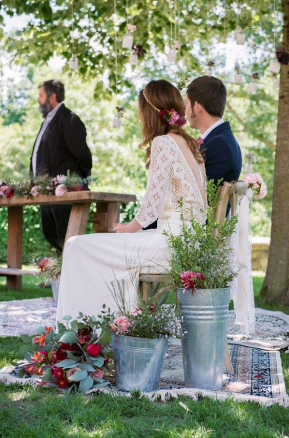 boda campestre - decoración de bodas en All Lovely Party