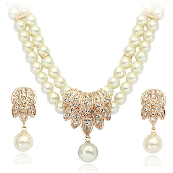 A800042,2pcs Happy Golden  Pearl Chokers Necklace-Stud Earrings,US$46.47   Read more - http://www.theweddinggownsite.com/index.php?r=2pcs-happy-golden-freshwater-pearl-chokers-necklace-stud-earrings.html