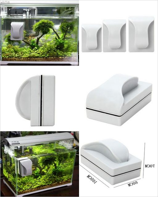 Magnetic Fish Tank Cleaner In 2020 Fish Tank Fish Tank Plants Fish Tank Design