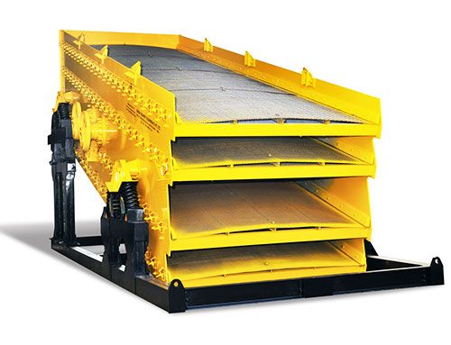 Our Inclined Vibrating Screen Can Be Used In Different Operations Such As Feeding Crushing Classifying And Processing Of Raw Screen River Bed New Technology