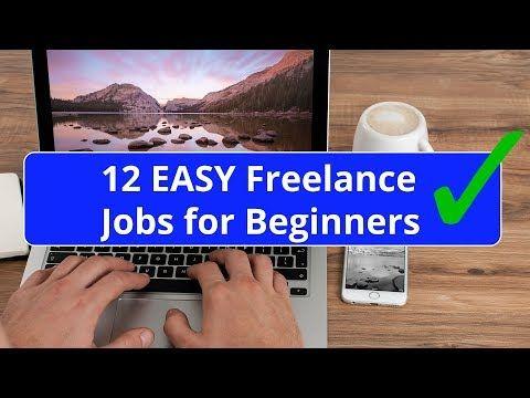 12 Easy Freelance Jobs For Beginners No Experience Needed Freelancing Jobs Job Online Jobs