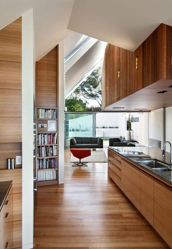 Moderna Casa con Vistas al Jardín Botánico de Wellington  Design of