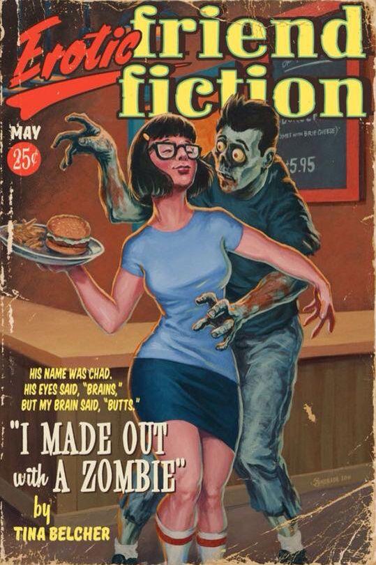 Erotic Friend Fiction - Tina Belcher   Bob's Burgers
